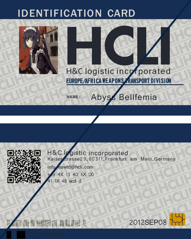 HCLI_Identification_card